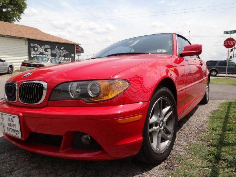 2004 RED /Black Leather Interior BMW 325 CI (WBABW33484P) with an 2.5L engine, Automatic transmission, located at 2002 W Main St., Grand Prairie, TX, 75050, (972) 641-9598, 32.740414, -97.031143 - Photo #0